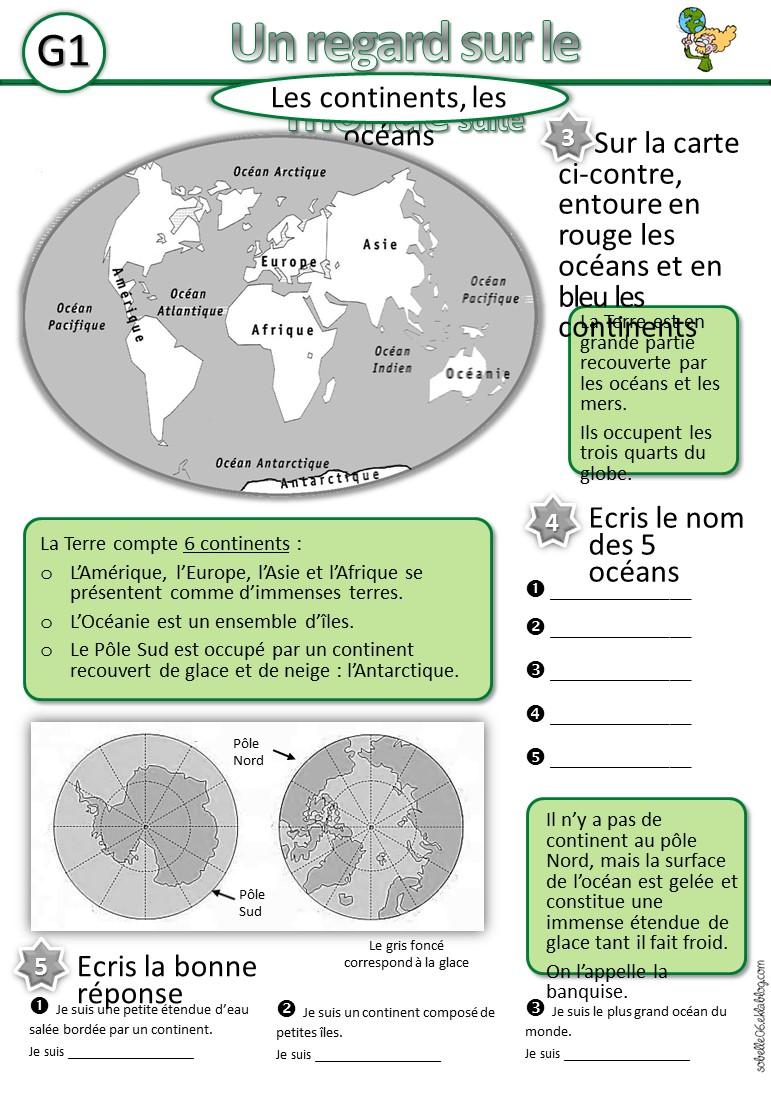 la géographie à l'école,en cp, ce1, ce2,cm1,cm2, la france